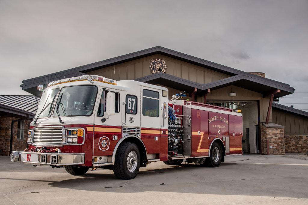 North Metro Fire Rescue District Wildland Patch Colorado CO
