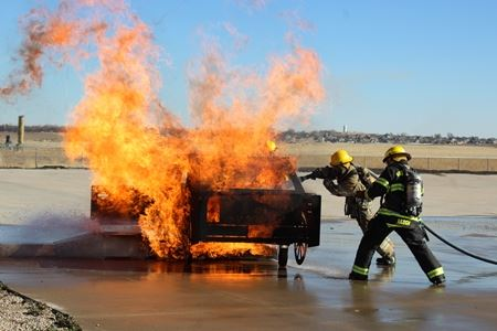 academy car fire training