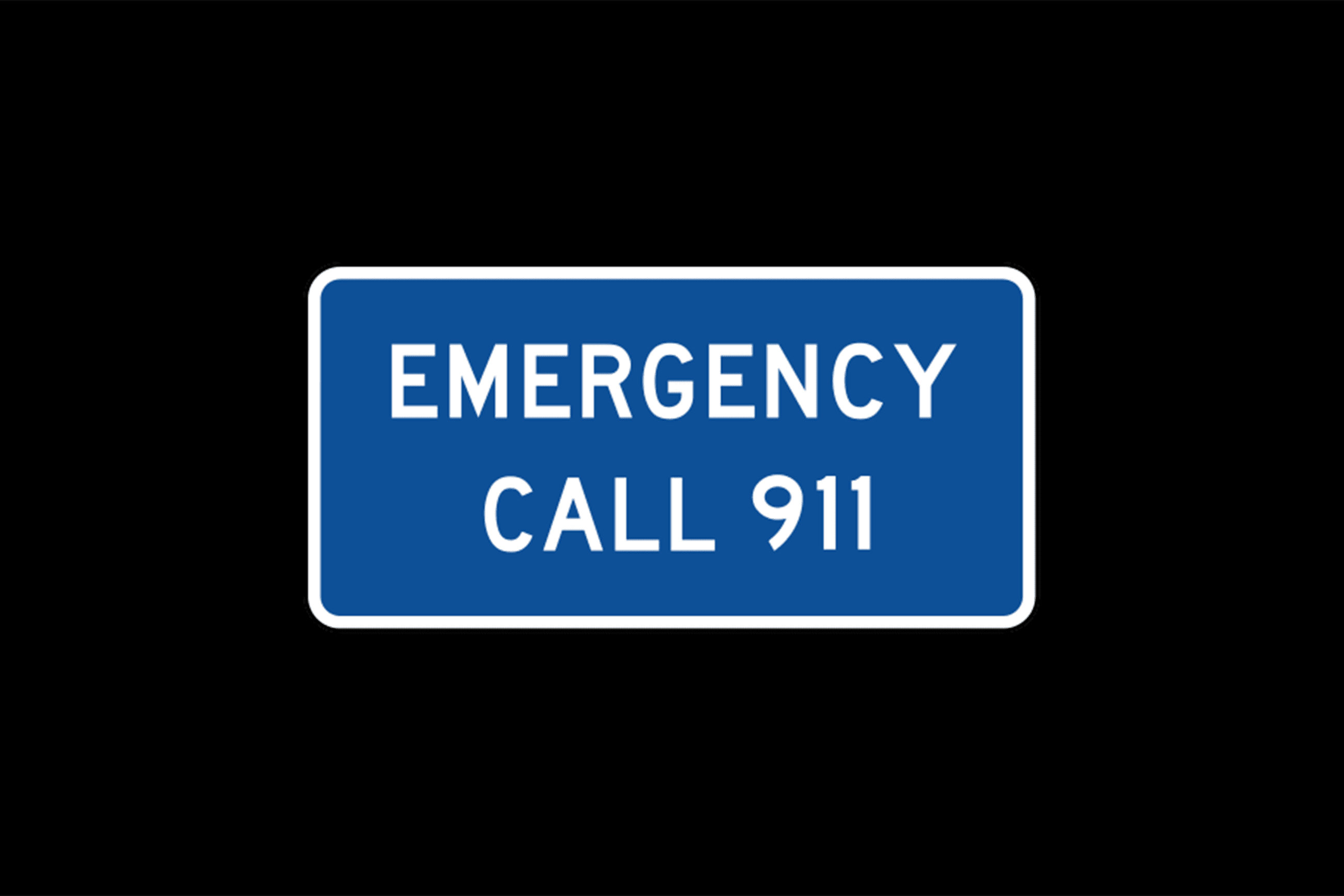 emergency sign web