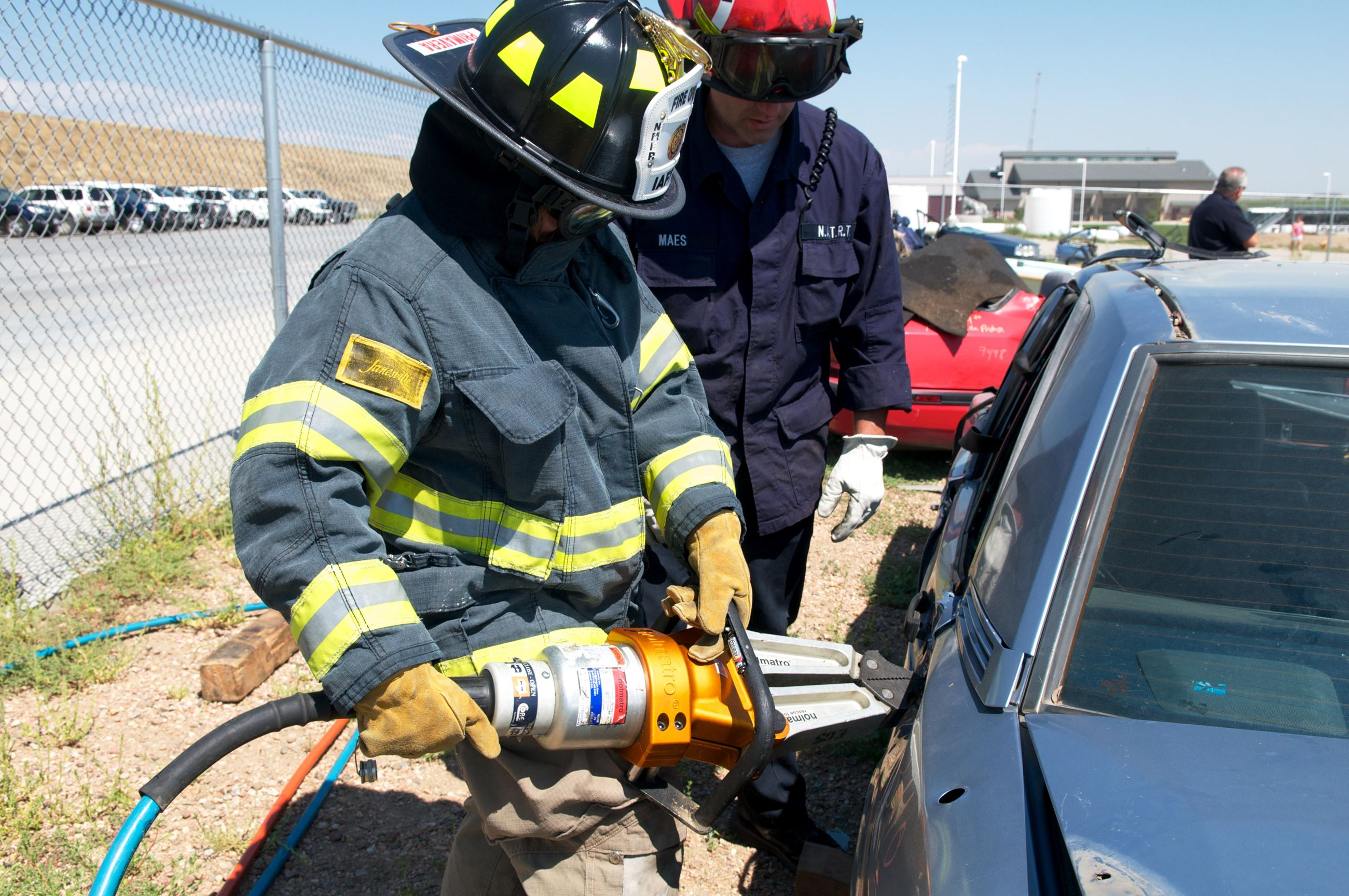 Citizen auto extrication training