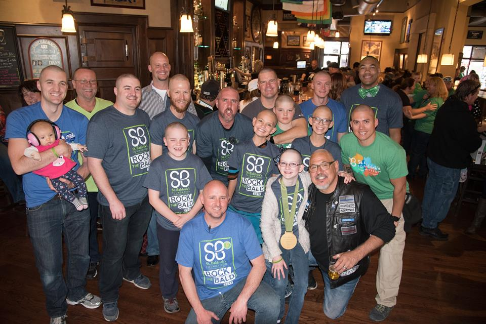 St Baldricks 2017 group photo