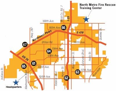 North Metro Fire Rescue District Map